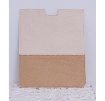 Funda Ipad beige